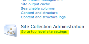Top-Level-Site-Settings